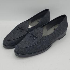 Stuart Weitzman Gray Loafers 9M